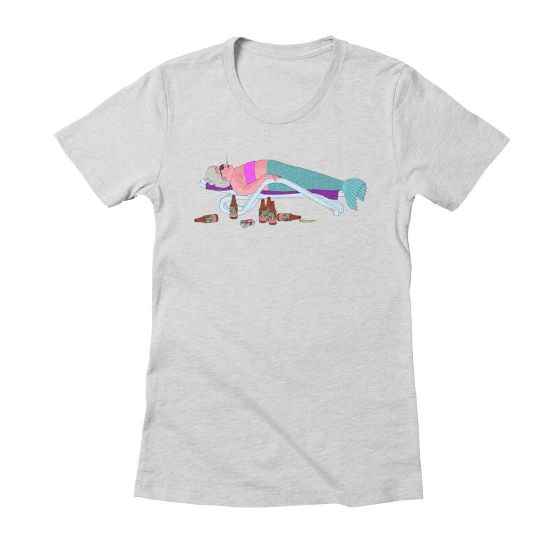 Mermaid Life Women's Fitted T-Shirt by KAUFYSHOP