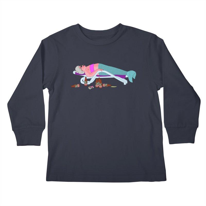 Mermaid Life Kids Longsleeve T-Shirt by KAUFYSHOP