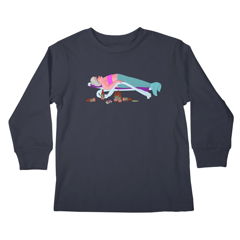 Mermaid Life Kids Longsleeve T-Shirt by KAUFYSHOP