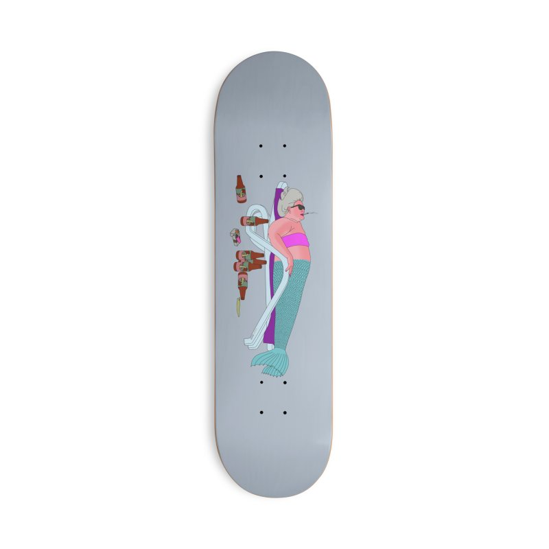 Mermaid Life Accessories Deck Only Skateboard by KAUFYSHOP