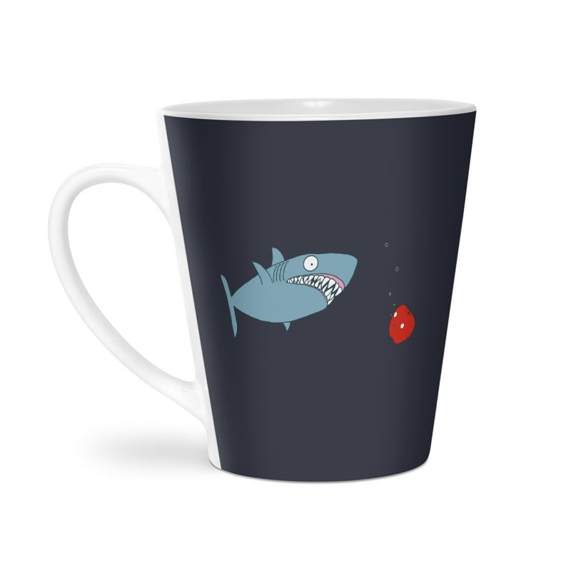 Shark and Apple Accessories Mug by KAUFYSHOP