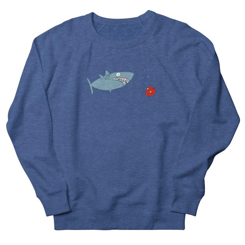 Shark and Apple Men's Sweatshirt by KAUFYSHOP