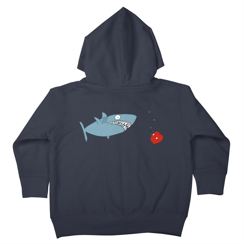 Shark and Apple Kids Toddler Zip-Up Hoody by KAUFYSHOP