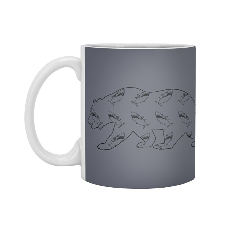 California Sharks Accessories Standard Mug by KAUFYSHOP