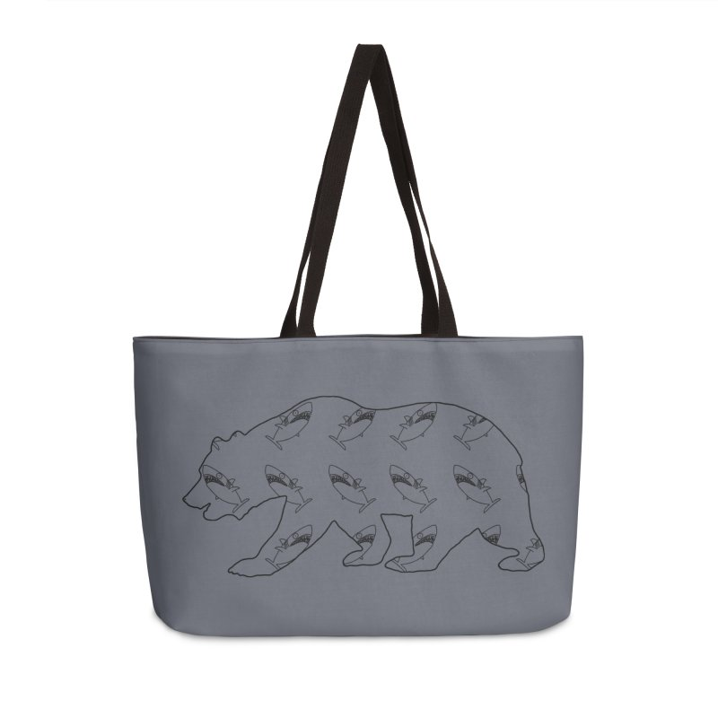 California Sharks Accessories Bag by KAUFYSHOP