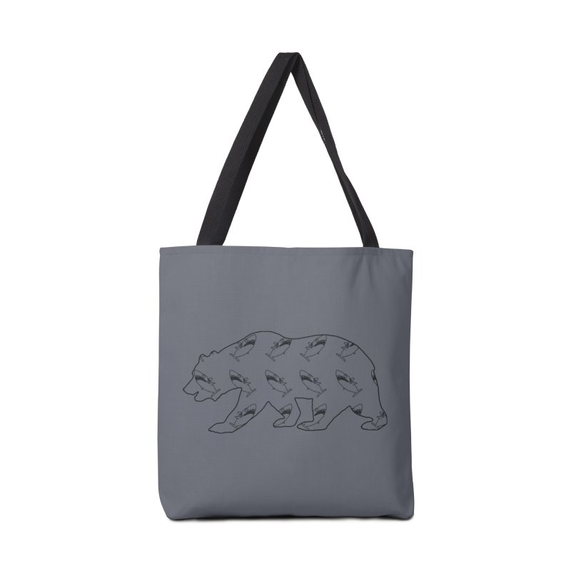 California Sharks Accessories Tote Bag Bag by KAUFYSHOP