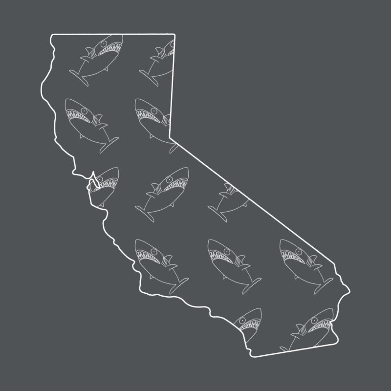 California Land Sharks Men's T-Shirt by KAUFYSHOP