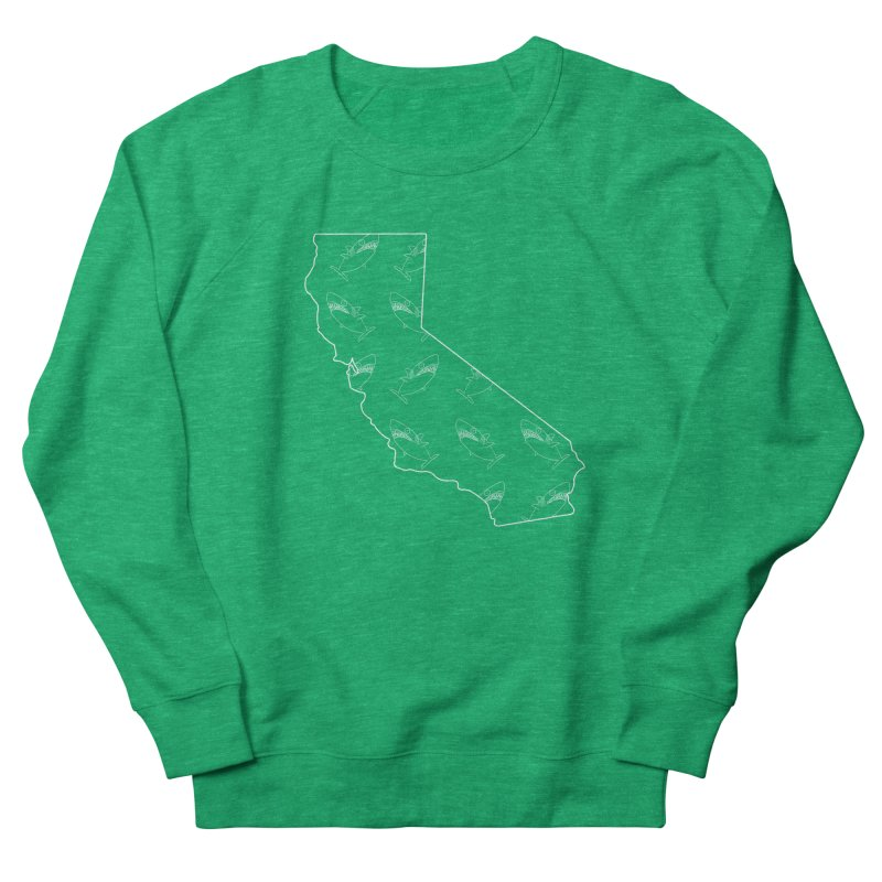California Land Sharks Women's Sweatshirt by KAUFYSHOP