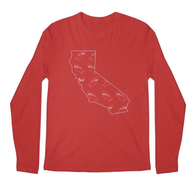 California Land Sharks Men's Regular Longsleeve T-Shirt by KAUFYSHOP