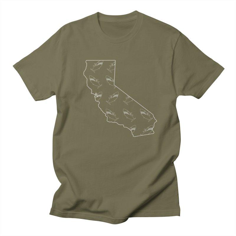 California Land Sharks Men's Regular T-Shirt by KAUFYSHOP