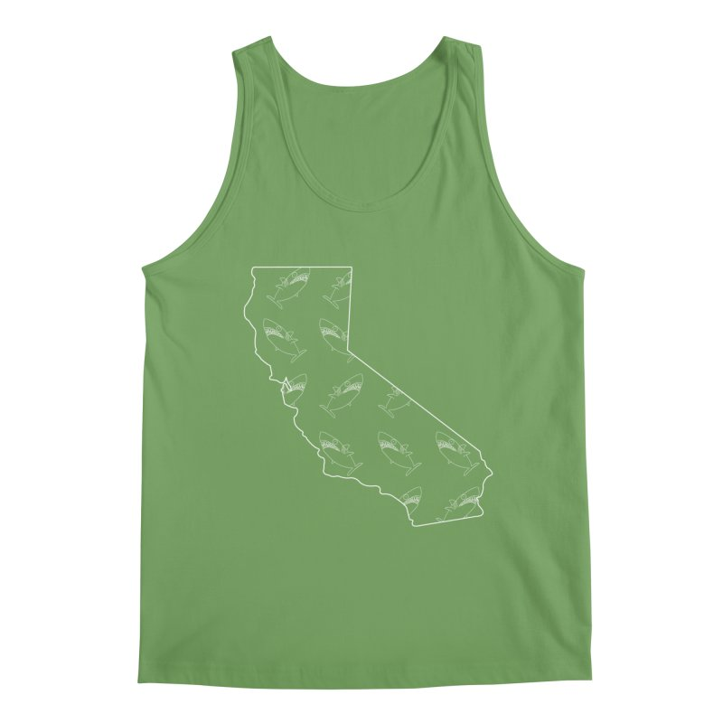 California Land Sharks Men's Tank by KAUFYSHOP
