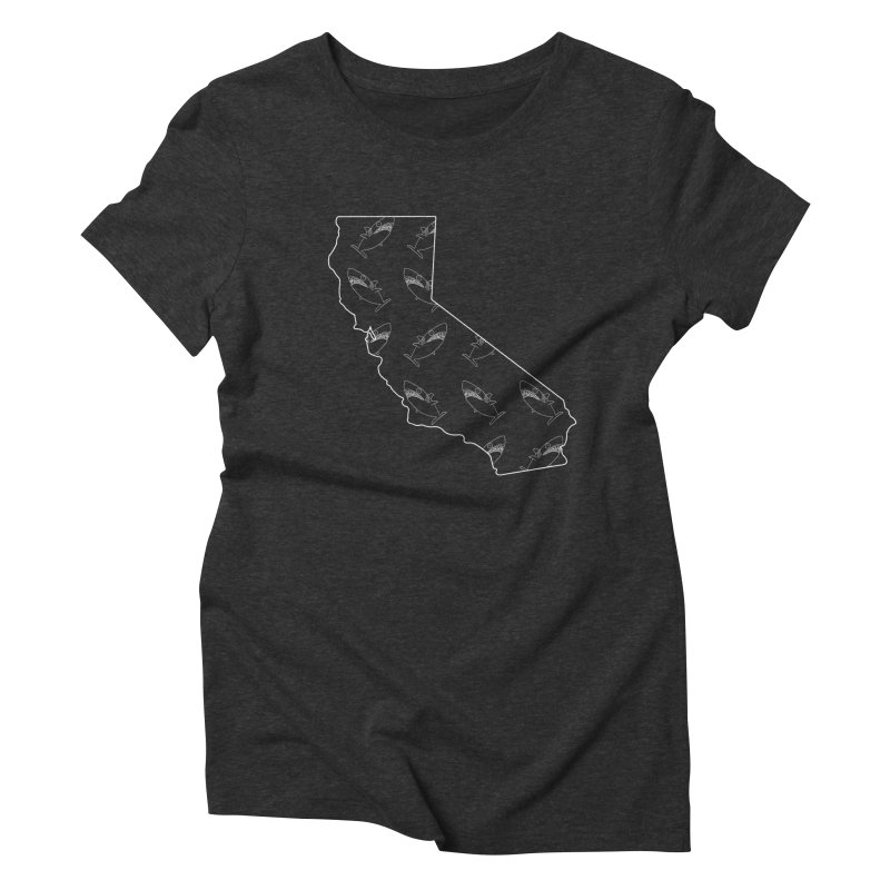 California Land Sharks Women's Triblend T-Shirt by KAUFYSHOP