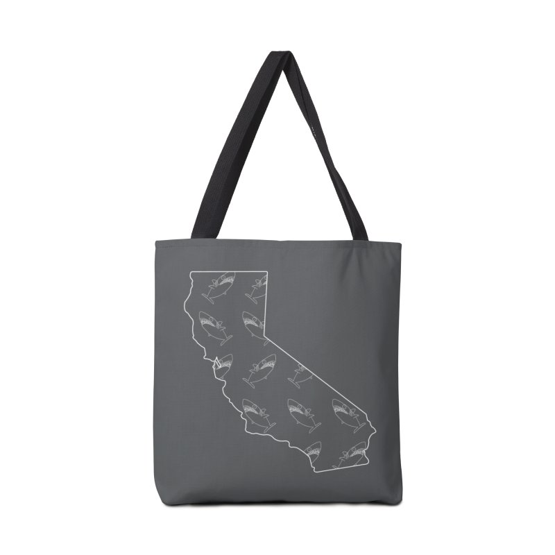 California Land Sharks Accessories Tote Bag Bag by KAUFYSHOP