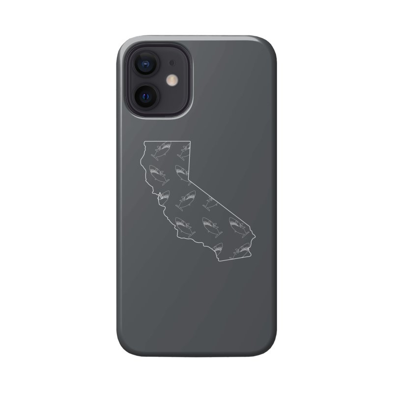 California Land Sharks Accessories Phone Case by KAUFYSHOP