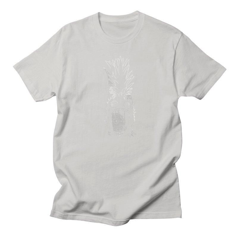 Haunted Pineapple Women's Regular Unisex T-Shirt by KAUFYSHOP