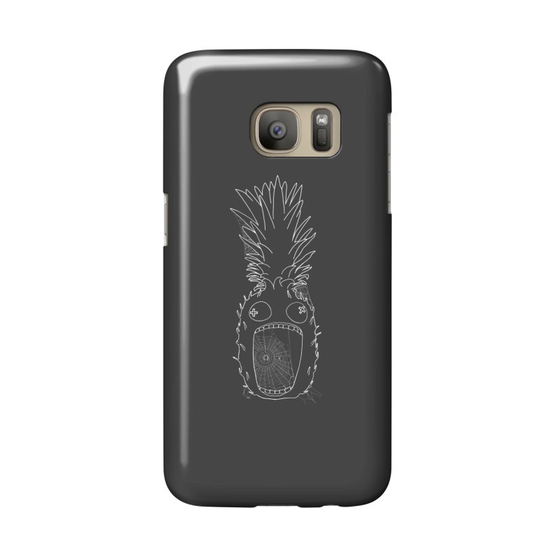 Haunted Pineapple Accessories Phone Case by KAUFYSHOP