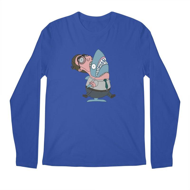 Man Shark Men's Regular Longsleeve T-Shirt by KAUFYSHOP