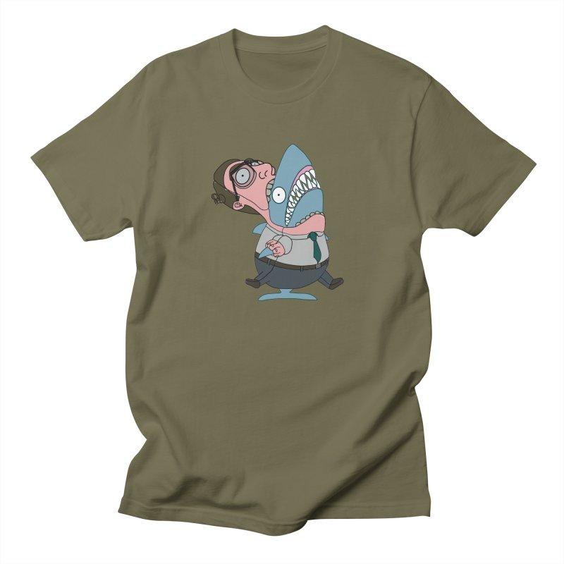 Man Shark Men's T-Shirt by KAUFYSHOP