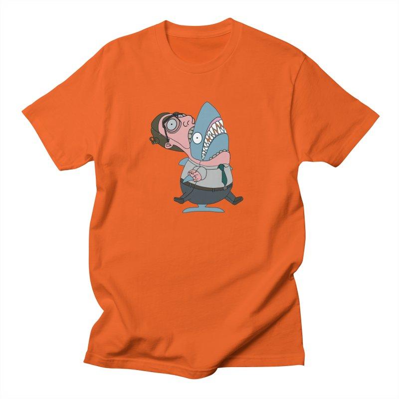 Man Shark Women's Regular Unisex T-Shirt by KAUFYSHOP