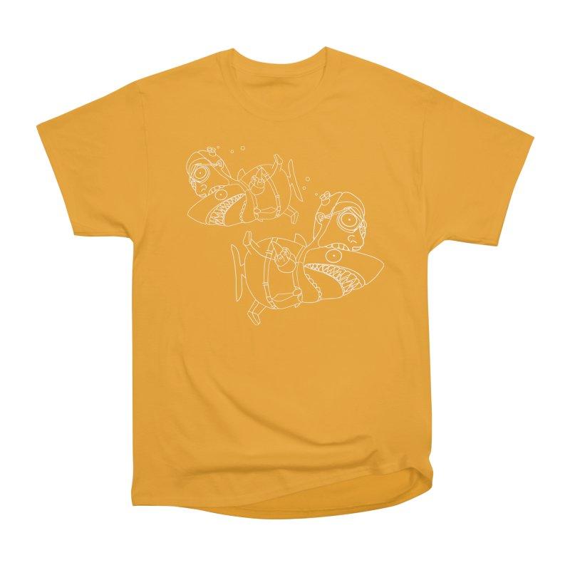 Man Sharks Men's Heavyweight T-Shirt by KAUFYSHOP