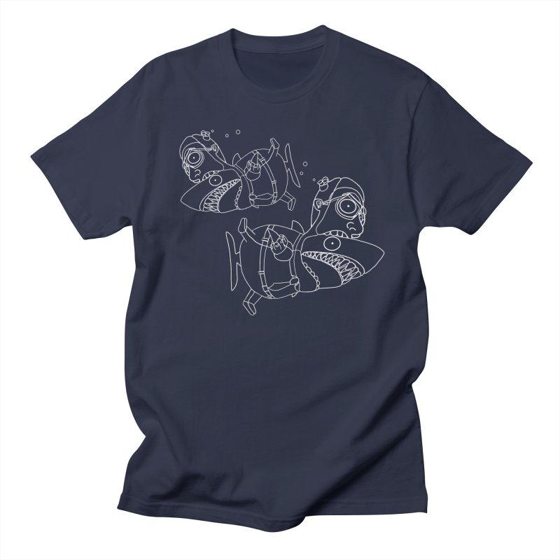 Man Sharks Women's Regular Unisex T-Shirt by KAUFYSHOP