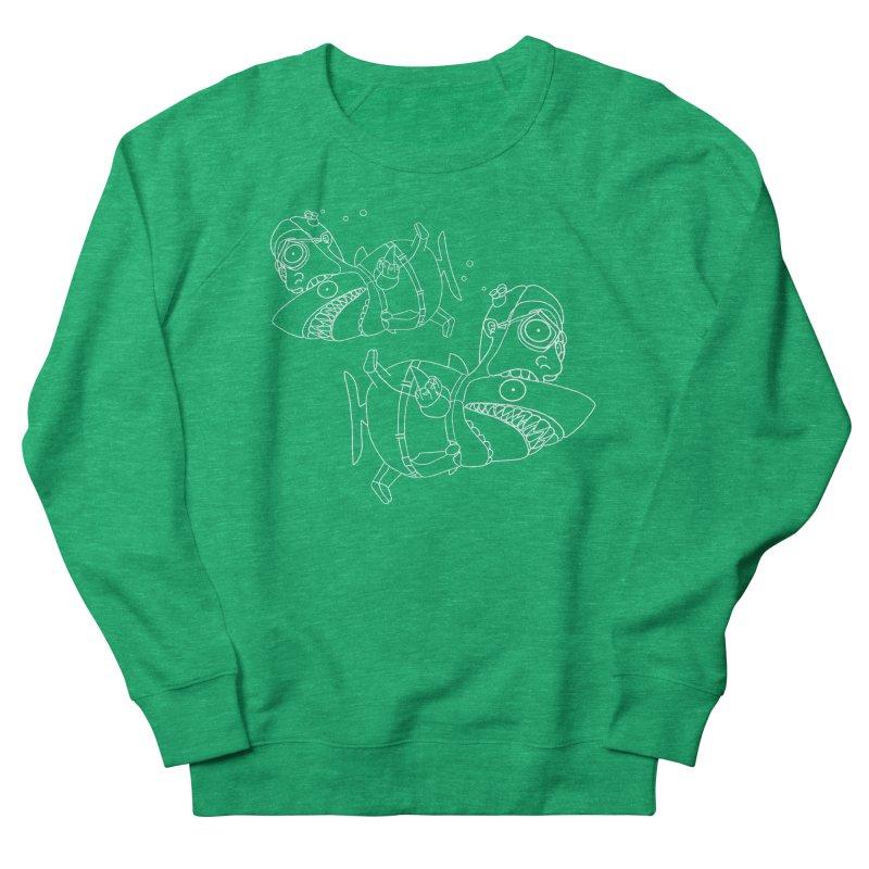 Man Sharks Women's Sweatshirt by KAUFYSHOP
