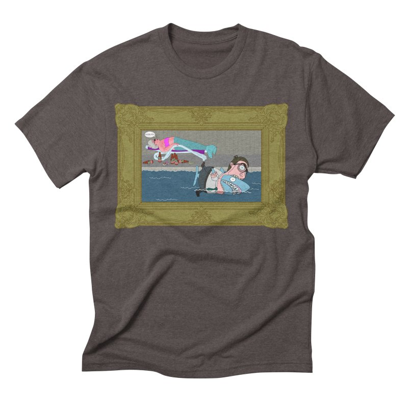 Home Life Men's Triblend T-Shirt by KAUFYSHOP