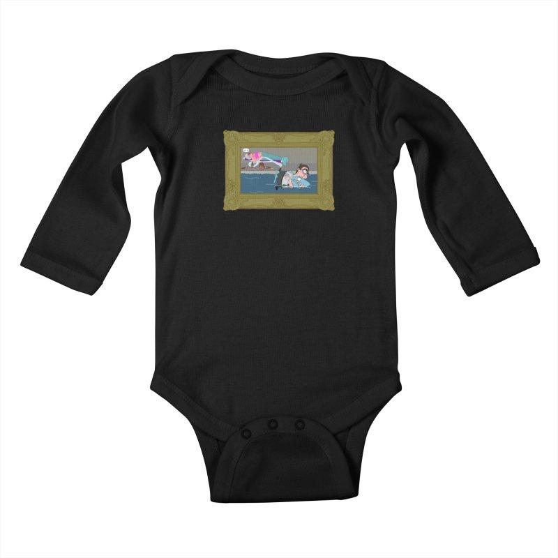 Home Life Kids Baby Longsleeve Bodysuit by KAUFYSHOP