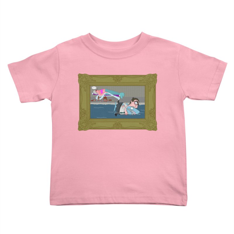 Home Life Kids Toddler T-Shirt by KAUFYSHOP