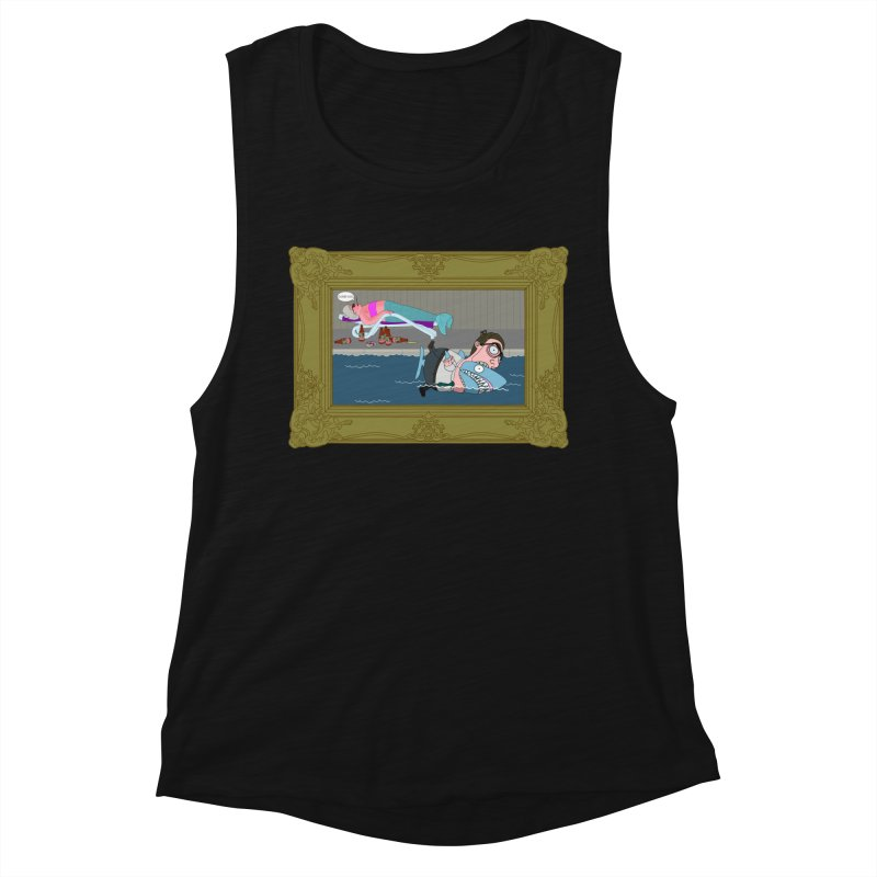 Home Life Women's Muscle Tank by KAUFYSHOP