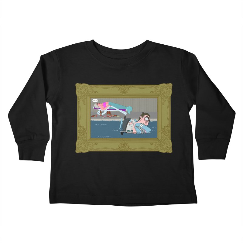 Home Life Kids Toddler Longsleeve T-Shirt by KAUFYSHOP