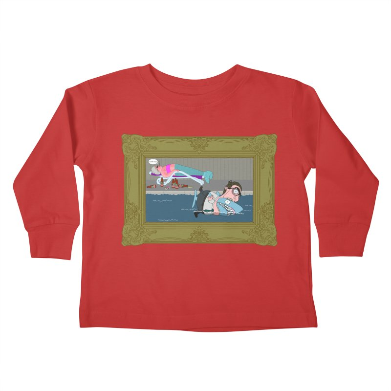 Home Life Kids Toddler Longsleeve T-Shirt by KAUFYSHOP