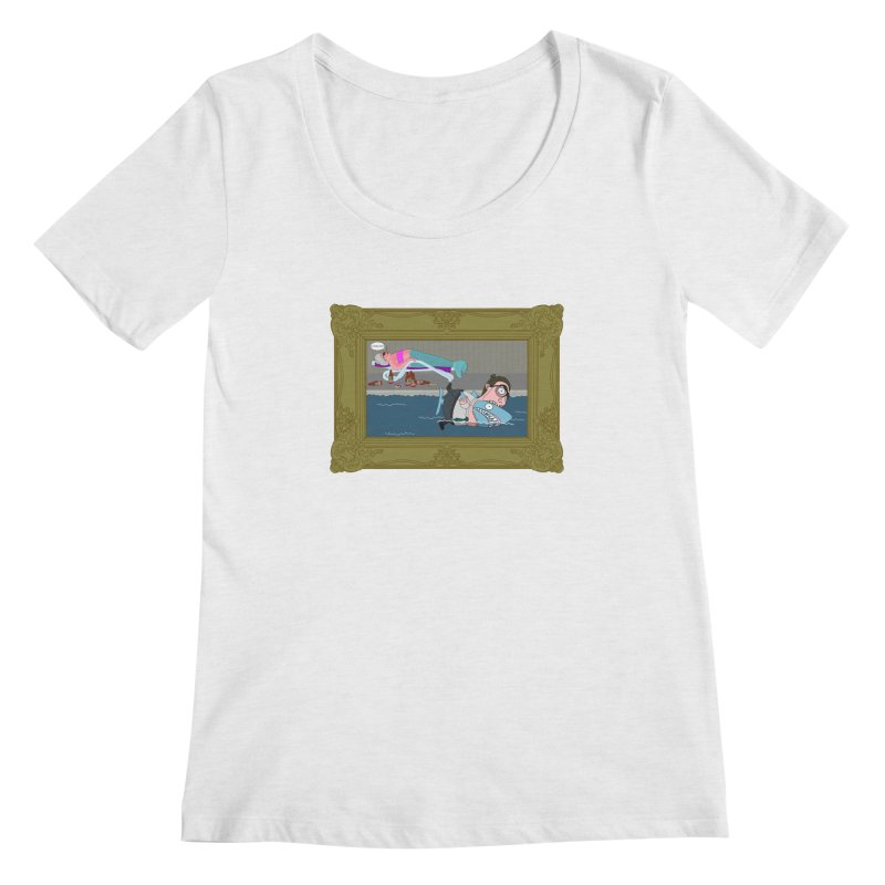 Home Life Women's Scoop Neck by KAUFYSHOP