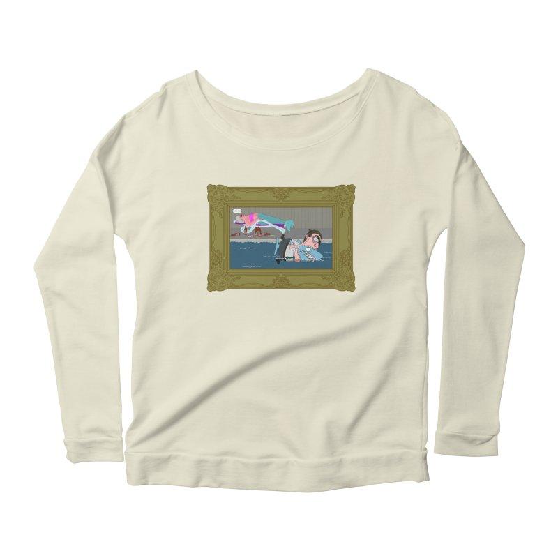 Home Life Women's Scoop Neck Longsleeve T-Shirt by KAUFYSHOP