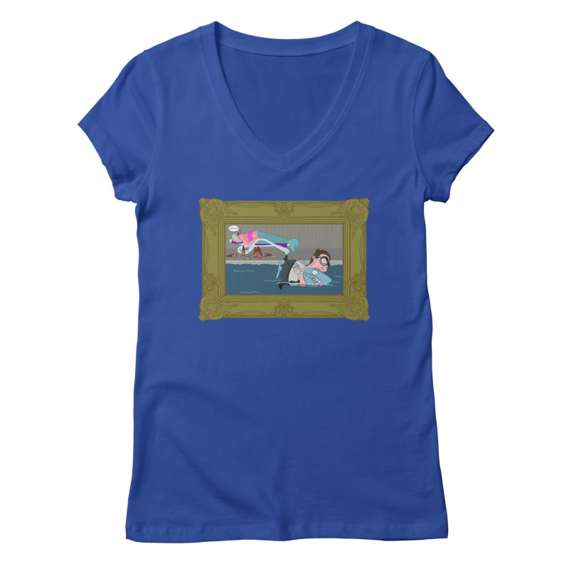 Home Life Women's Regular V-Neck by KAUFYSHOP