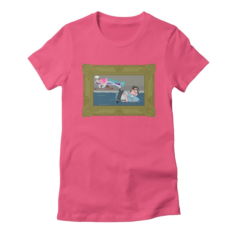 Home Life Women's Fitted T-Shirt by KAUFYSHOP
