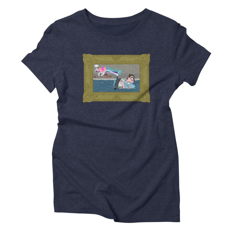 Home Life Women's Triblend T-Shirt by KAUFYSHOP