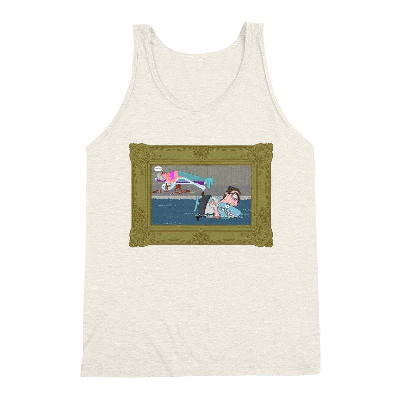Home Life Men's Triblend Tank by KAUFYSHOP