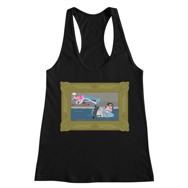 Home Life Women's Racerback Tank by KAUFYSHOP
