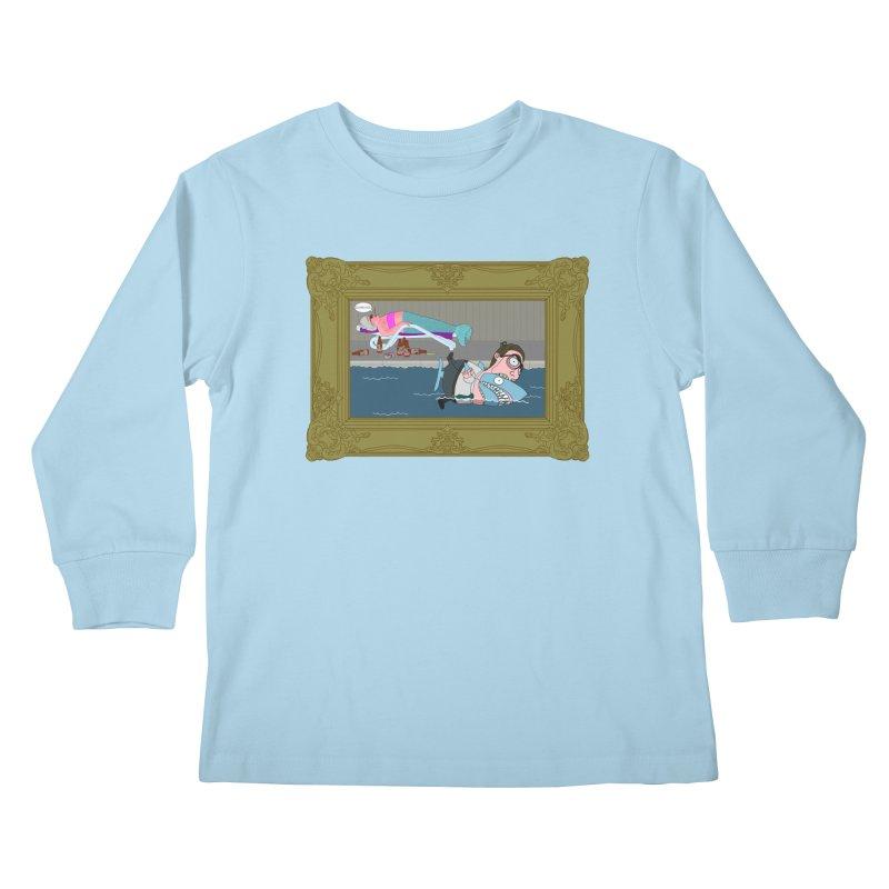 Home Life Kids Longsleeve T-Shirt by KAUFYSHOP
