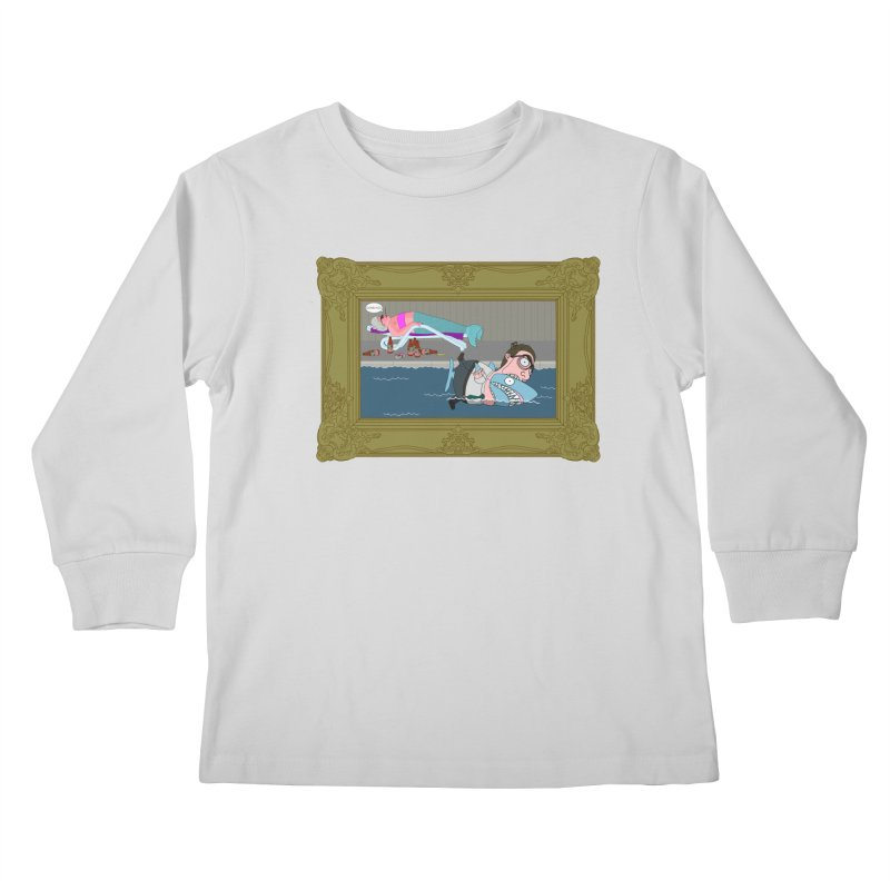 Home Life Kids Longsleeve T-Shirt by KAUFYSHOP