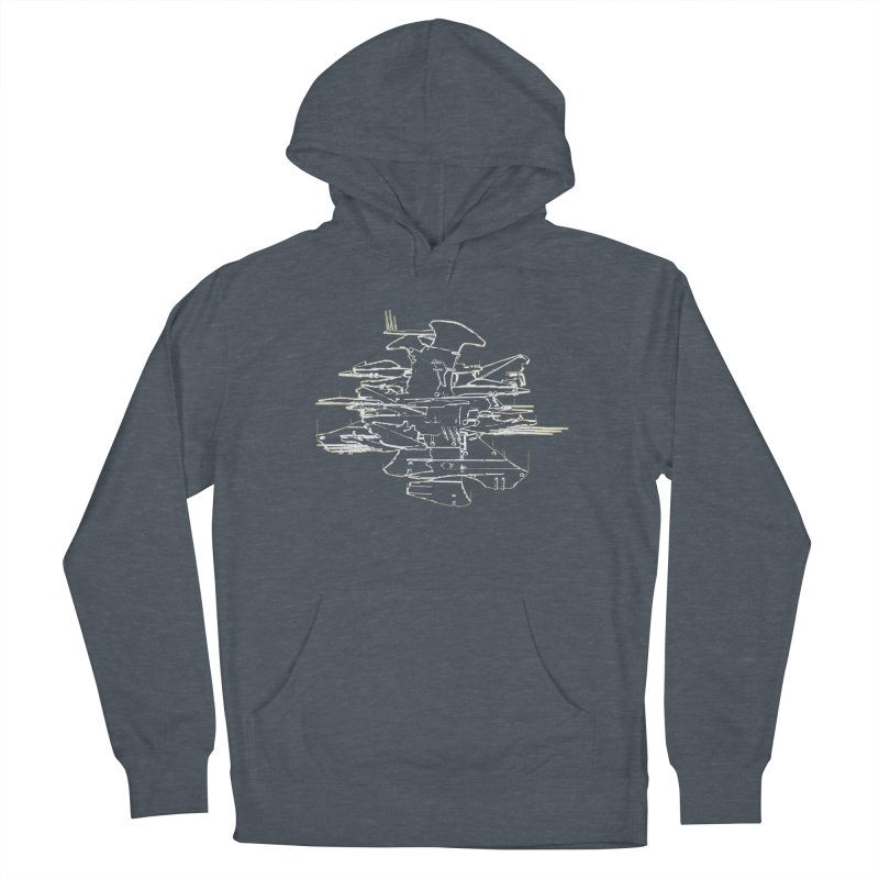 Design 07 Men's French Terry Pullover Hoody by KAUFYSHOP