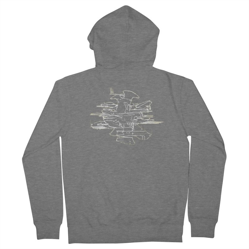 Design 07 Men's French Terry Zip-Up Hoody by KAUFYSHOP