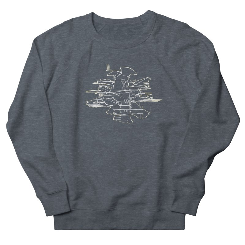 Design 07 Women's French Terry Sweatshirt by KAUFYSHOP