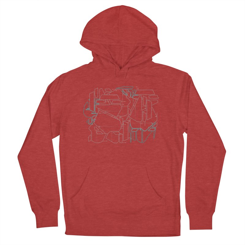 Design 08 Women's French Terry Pullover Hoody by KAUFYSHOP