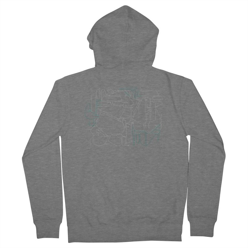 Design 08 Men's French Terry Zip-Up Hoody by KAUFYSHOP