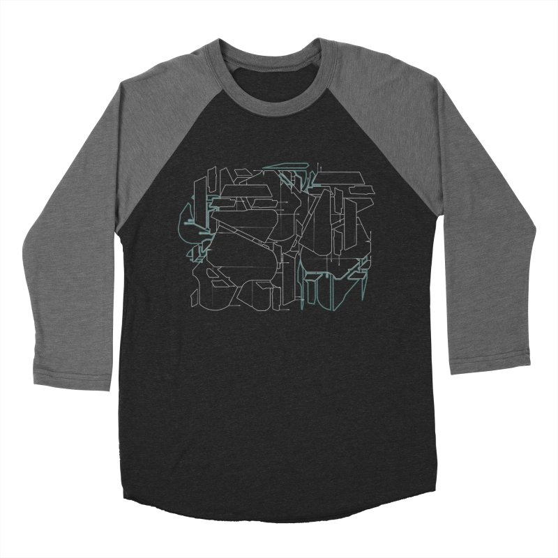 Design 08 Men's Baseball Triblend Longsleeve T-Shirt by KAUFYSHOP
