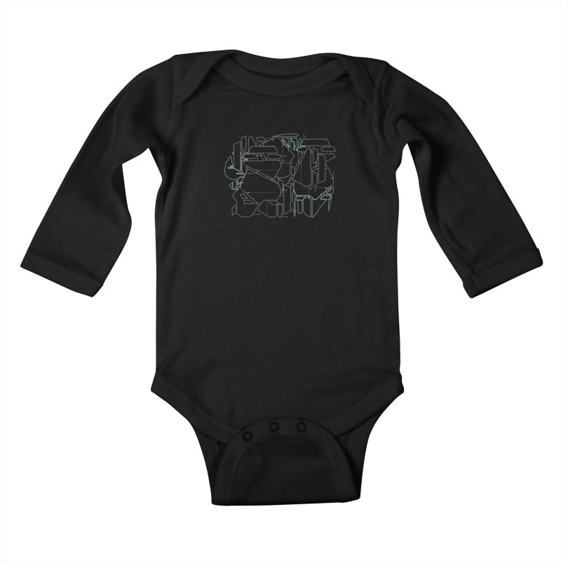 Design 08 Kids Baby Longsleeve Bodysuit by KAUFYSHOP