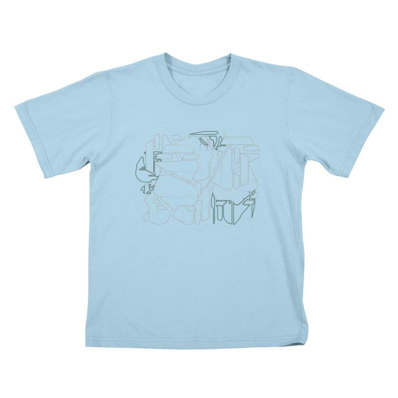 Design 08 Kids T-Shirt by KAUFYSHOP
