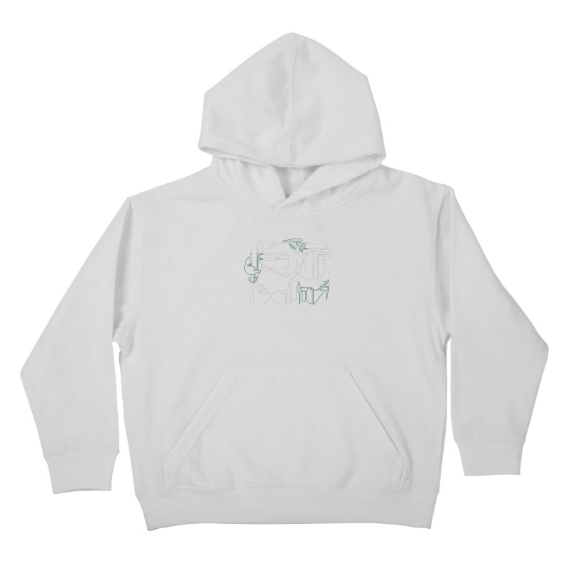 Design 08 Kids Pullover Hoody by KAUFYSHOP